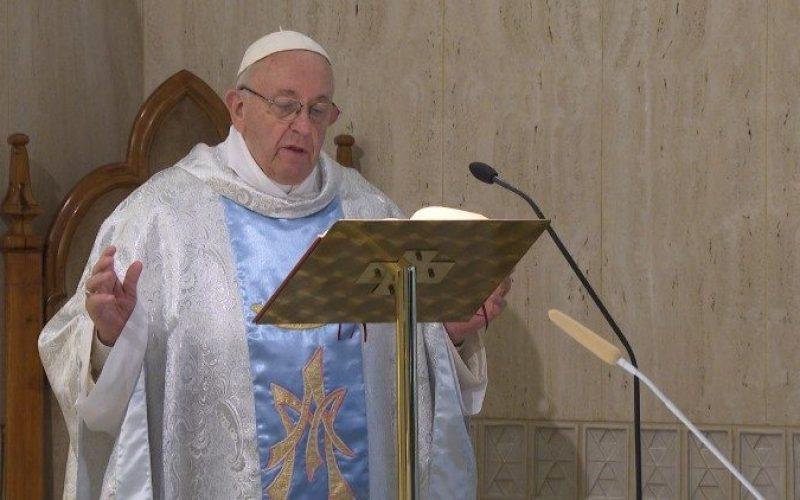 Папата: Црквата е жена и мајка, како Марија