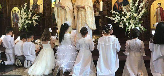 Прва Причест во Катедралната парохија во Струмица