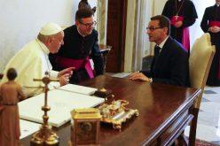 Папата Фрањо го прими во аудиенција полскиот премиер