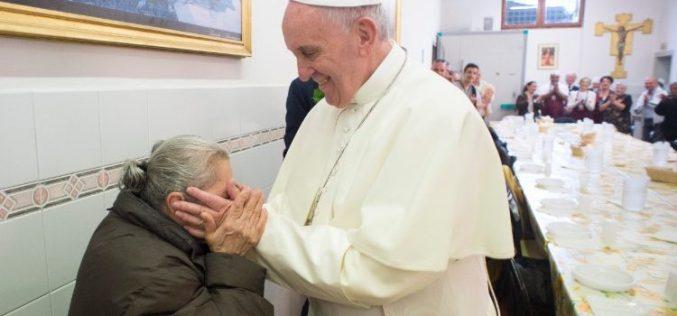 Порака на папата Фрањо за вториот Светски ден на сиромашните