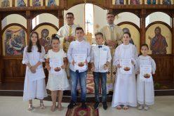 """Прва Причест во парохијата """"Свети Иван Крстител"""" во Струмица"""