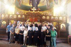 """Свештеници од епархијата """"Свети Владимир Велики"""" – Париз во посета на Македонија"""