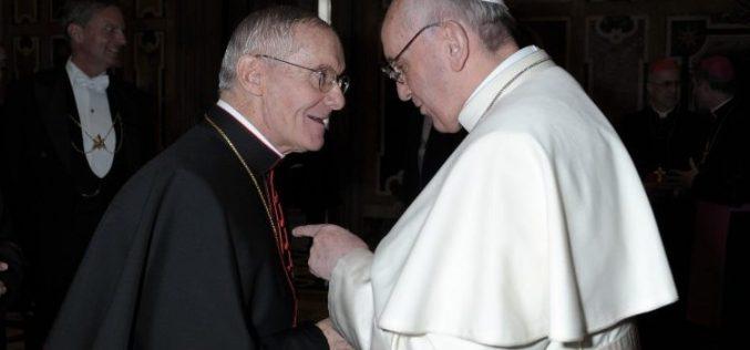 Телеграма со сочувство од Папата по повод смртта на кардинал Туран