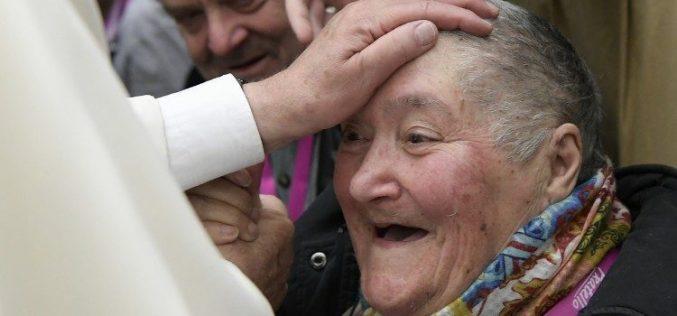 Ненајвена посета на Папата Фрањо во Рим