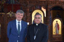 Бискупот Стојанов го прими во проштална средба амбасадорот Гјерински