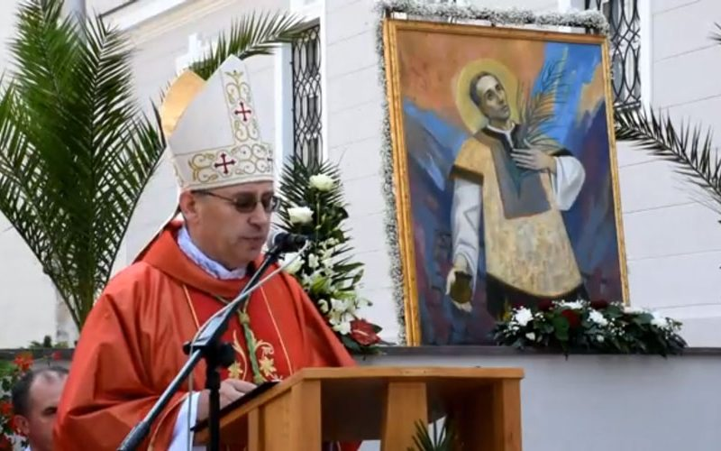 Бискупот Стојанов ја предводеше Литургијата на патрониот празник на Пожешката бискупија