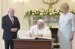 Првата порака на папата Фрањо до народот во Ирска