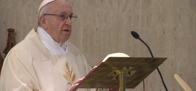 Папата: Кон оние кои бараат скандал –молчење и молитва