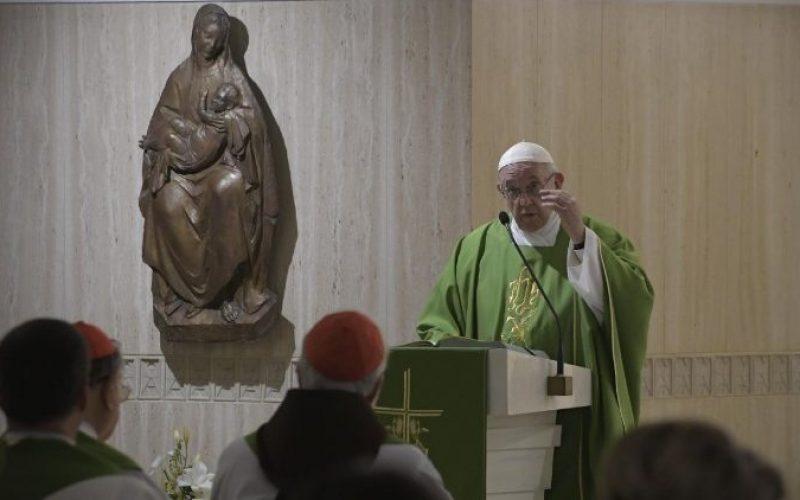 Папата: Денес да се молиме за нашите епископи