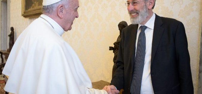 Четитката на Папата до еврејската заедница во Рим