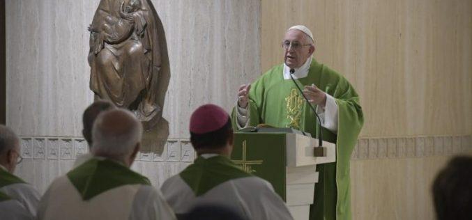 Папата: Надежта е конкретна, таа е очекување на средбата со Исус
