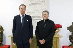 Н. В. П. монс. д-р Киро Стојанов го прими Амбасадорот на ОБСЕ во Република Македонија