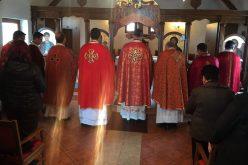 Прославен патрониот празник на црквата во Сарај