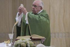 Папата: Црквата расте во тишина