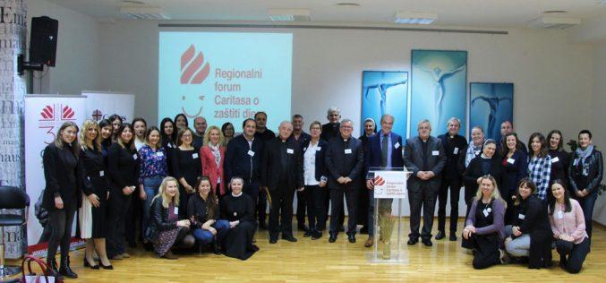 Регионален форум на Каритас за заштита на деца