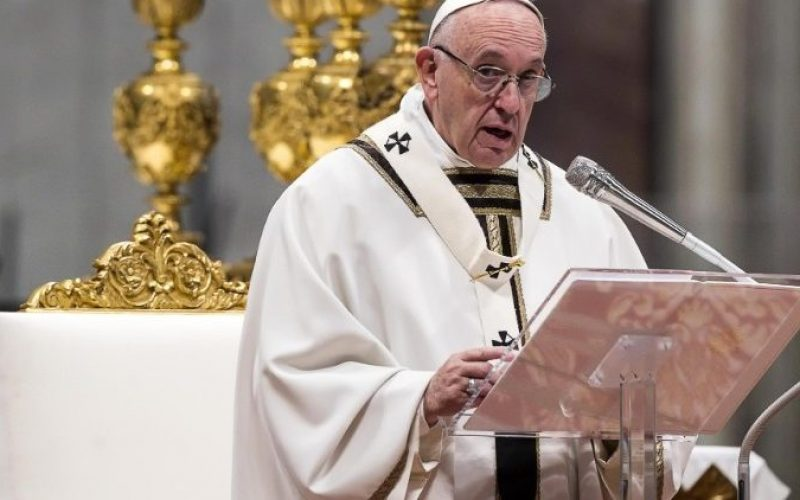 Папата: Не можеме да љубиме само кога ни одговара