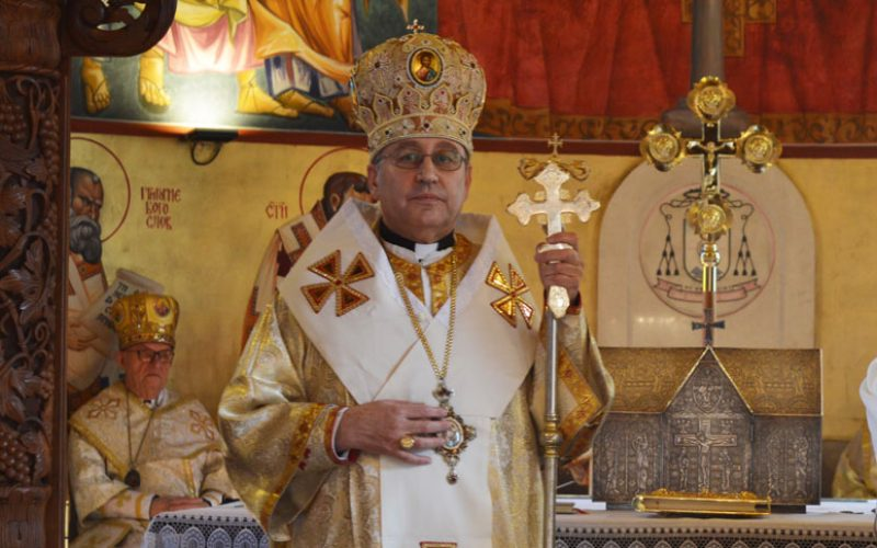 Благодараствен говор на првиот епархиски епископ, монс. д-р Киро Стојанов на Новоснованата епархија струмичко-скопска