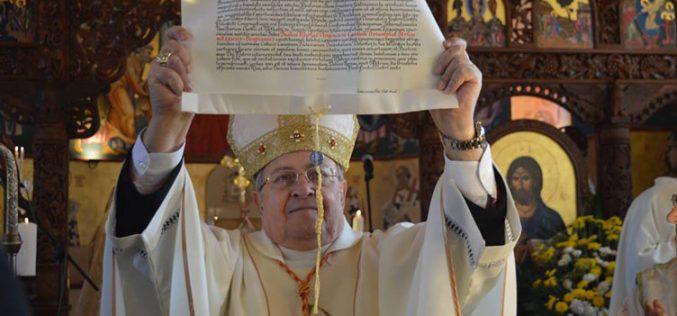 Декрет на Светиот Стол за воспоставувањето на струмичко-скопската епархија за верниците од византиски обред во Република Македонија