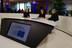 """Бискупот Стојанов гостуваше во емисијата """"Новости од Европскиот парламент"""""""