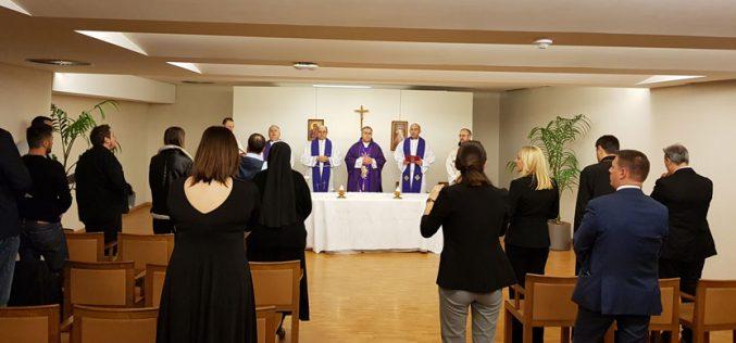 Бискупот Стојанов славеше света Миса за ЕУ во Европскиот парламент