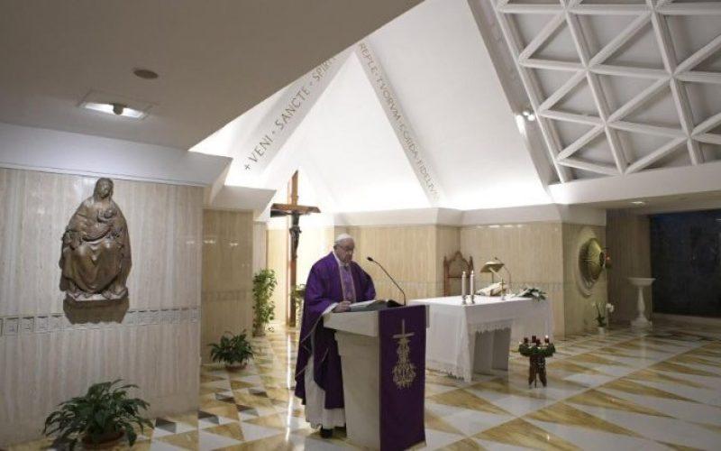 Папата: Градете мир во сопствената душа, во семејството и во светот