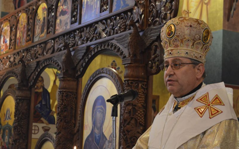 Проповед на епископот Стојанов по повод осветувањето на новите камбани на Струмичката катедрала