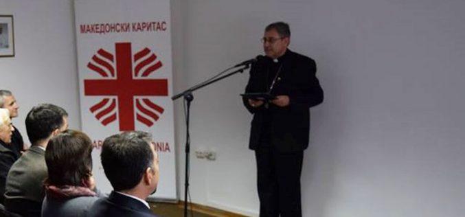 Говор на Н.В.П. монс. д-р Киро Стојанов при прославата на Денот на Македонски Каритас