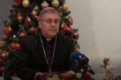 Божиќна честитка на Н.В.П. монс. д-р Киро Стојанов, Скопски бискуп и епарх Струмичко – скопски