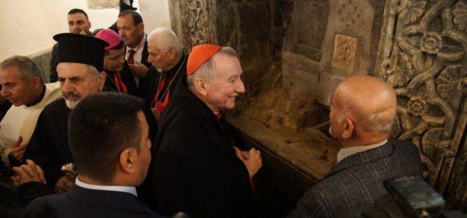 Паролин: Во Ирак ја допрев верата на маченичката Црква