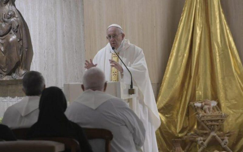 Папата Фрањо: конкретноста е критериумот за христијанството