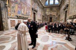 Папата се обрати до Дипломатскиот кор акредитиран при Светиот Престол