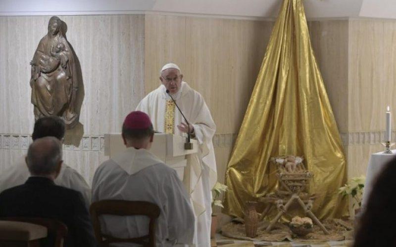 Папата: Љубовта Божја секогаш го прави првиот чекор