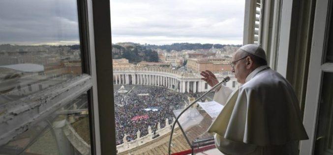 Папата: Христијански живот значи да се служи на Господ