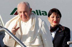 Папата пристигна во Панама