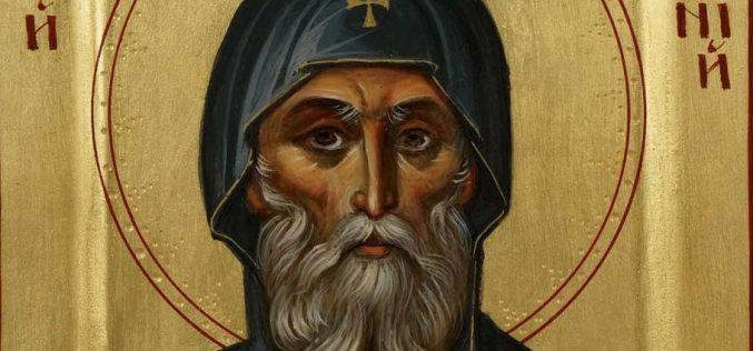 Како Сатаната го искушувал свети Антониј Пустиник