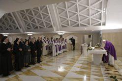 Папата: Не заборавајте што Господ направил во вашиот живот