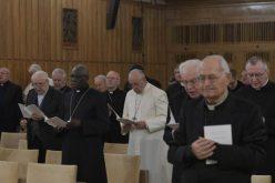Папата Фрањо ги започна духовните вежби со Римската курија