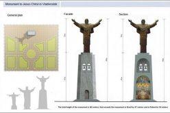 Во Владивосток ќе биде поставена статуа на Исус
