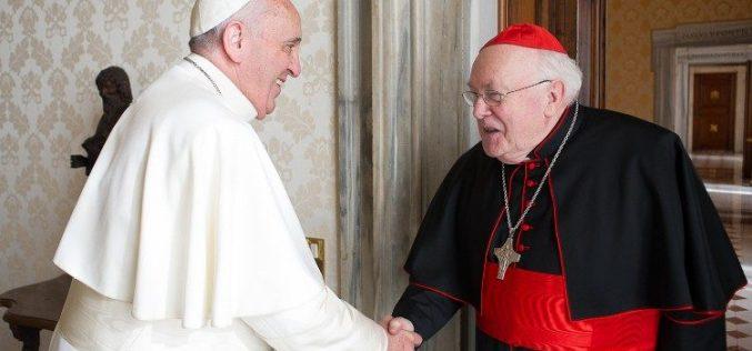 Сочувство на папата Фрањо по повод смртта на кардинал Годфриед Данелс