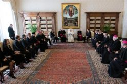 Папата се сретна со пратеници од Чешка и Словачка