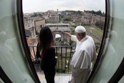 Папата ја посети општинската управа на градот Рим