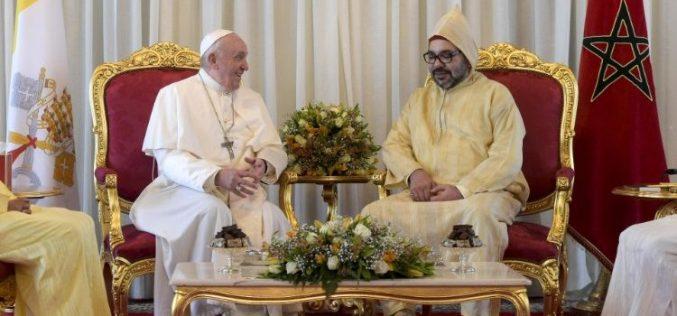Апел на папата Фрањо и кралот Мухамед VI. за Ерусалим