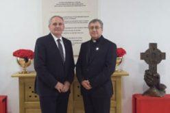 Бискуп Стојанов се сретна со Н.Е. господин Џерџ Дедај