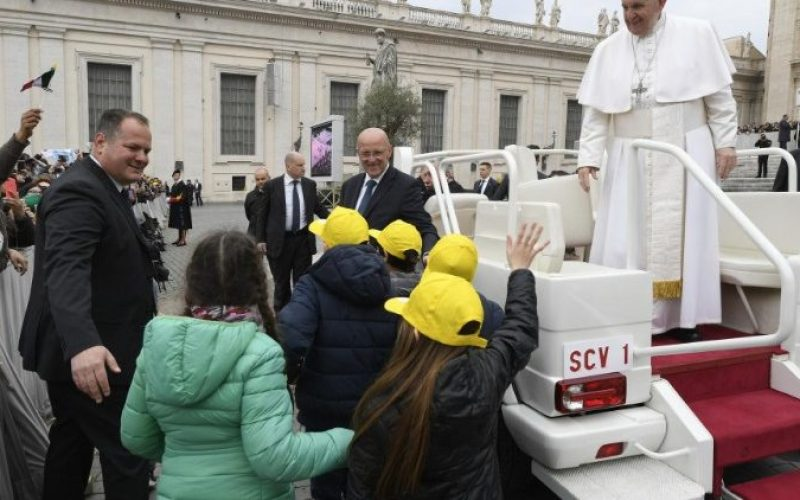 Апел на Папата за 6. Меѓународен ден на спортот