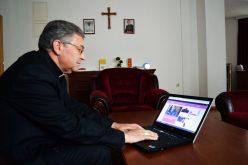 Бискупот Стојанов го благослови отворањето на порталот Ватикан њуз