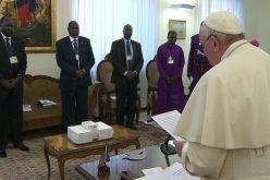 Апел на Папата за мир во Јужен Судан