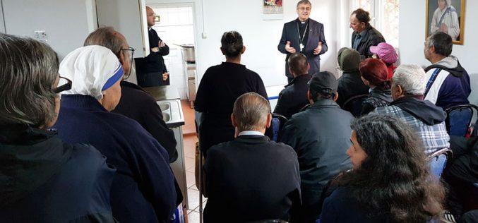 Бискупот Киро Стојанов ја посети заедницата на сестрите Мисионерки на љубовта