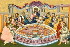 """Велики Четврток – """"Никој не е исклучен од Исусовата љубов"""""""