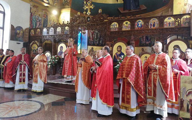 Бискупот Стојанов на Велики Четврток служеше света Литургија во Струмица