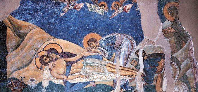 Застој помеѓу смртта и животот: Торинското платно – икона за Велика Сабота